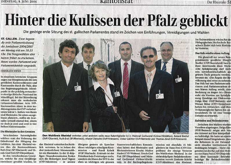 Der Rheintaler: Hinter die Kulissen der Pfalz geblickt