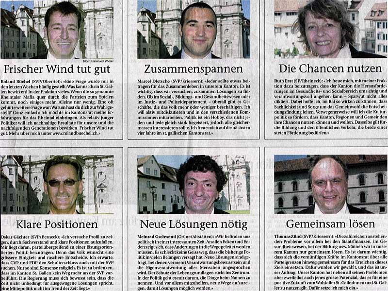 Neue Legislatur eröffnet: Neuer Wind tut gut