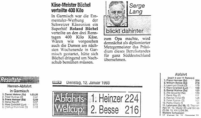 Käse-Meister Büchel verteilte 400 Kilo