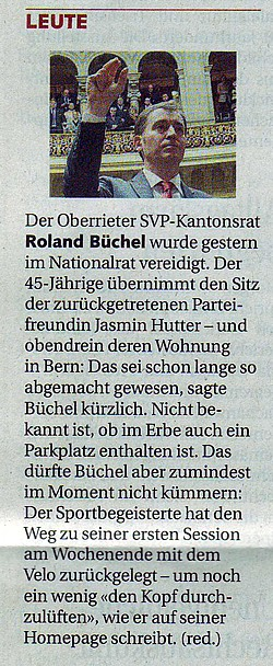 St. Galler Tagblatt: Leute
