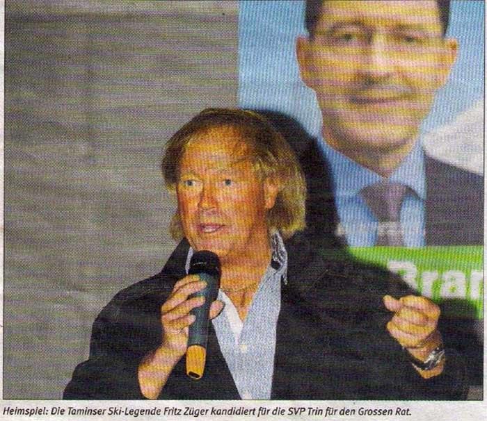 Rhiiblatt: Skilegende Fritz Züger