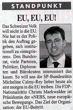 EU, EU, EU