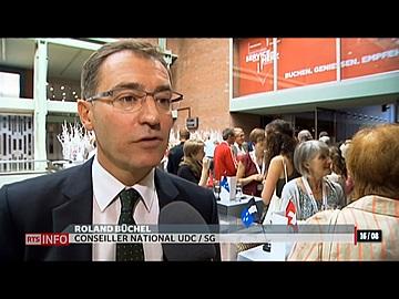 Compte en banque pour les expatriés suisses  - RTS Le Journal